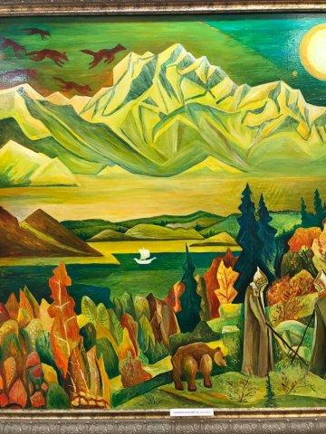 «Преодоление. Живопись»: открытие персональной выставки художника Константина Юрина