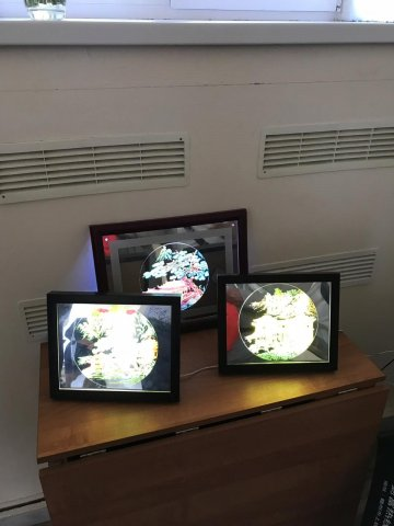 Открытие выставки «Евразийский мост» в галерее «Ижад»