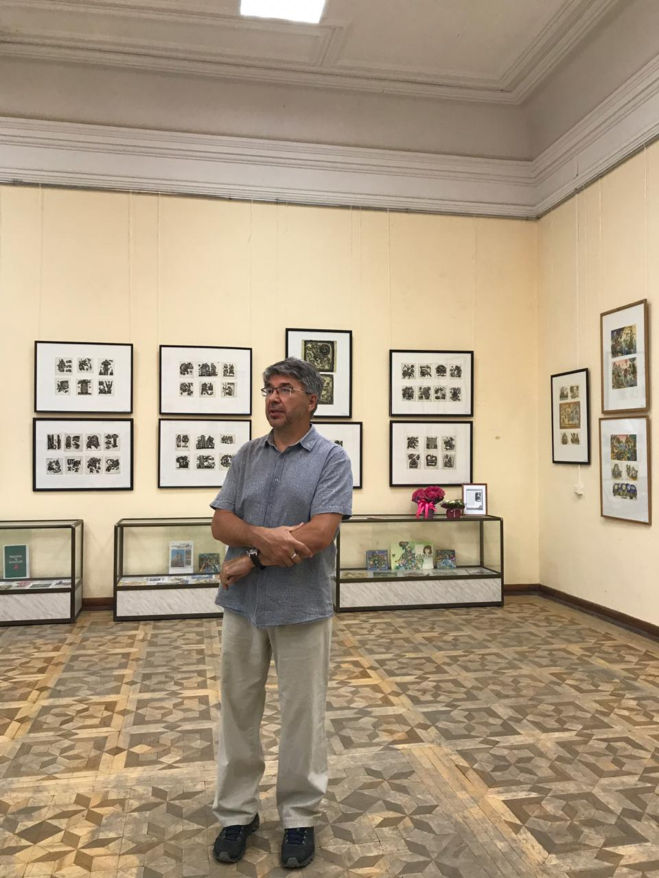 Художники сказок: в Национальной библиотеке им. А.-З. Валиди открылась выставка книжной иллюстрации