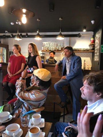 Международный художественный проект ARTheART: пресс-завтрак в участниками