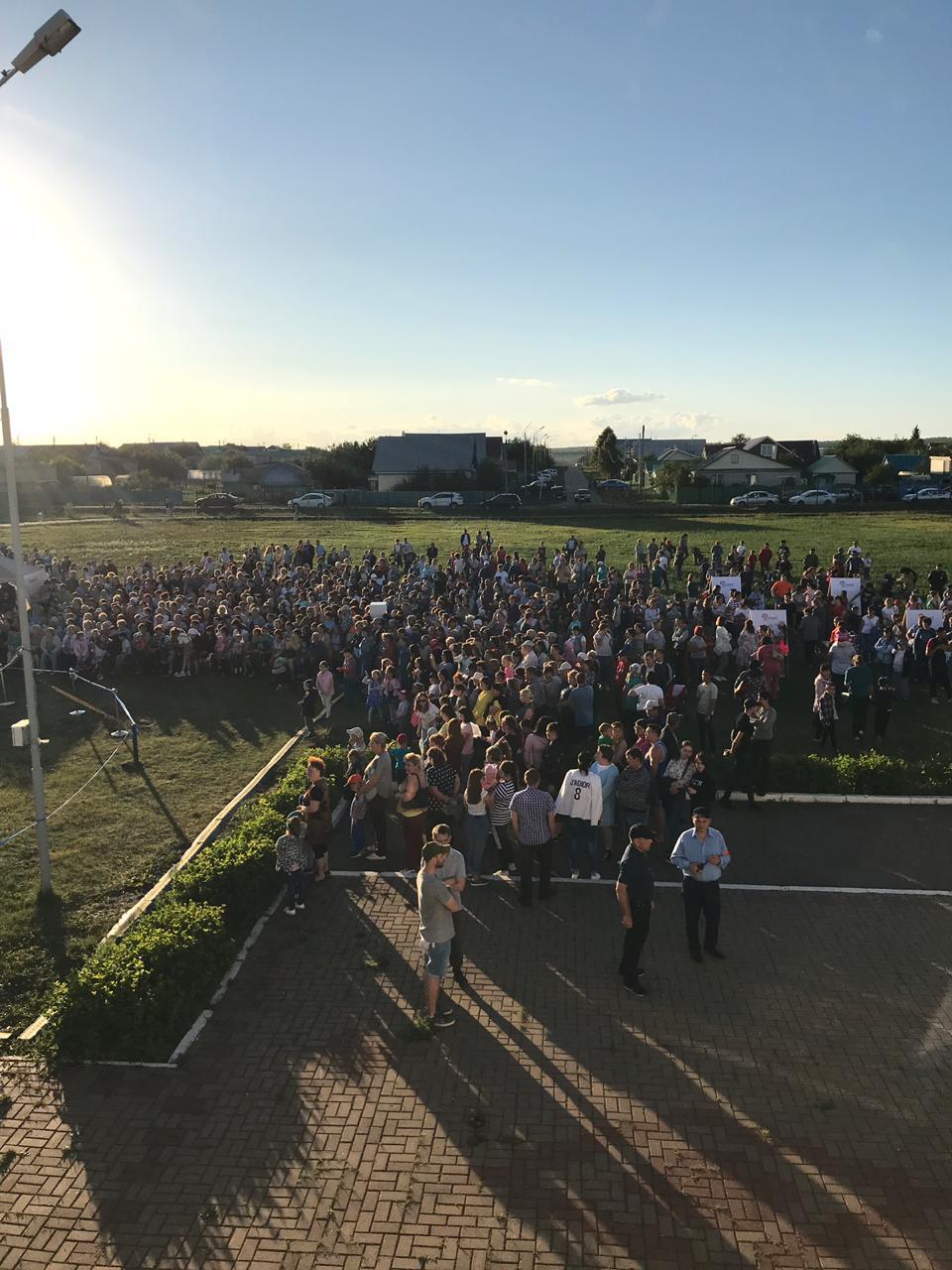 В Чекмагуше на концерте представили работы башкирских художников