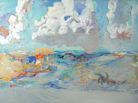 «Середина лета», Расих Ахметвалиев, 2016, холст, масло