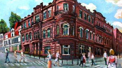 ART-очерки Татьяны Красновой: выставка «Мой город» художника Раиса Гаитова