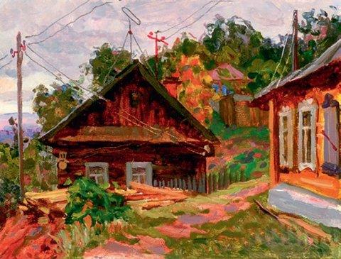 «Август кончается», Владислав Меос, 1976, холст, масло