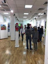 Открытие международной арт-выставки «Мяч в искусстве»