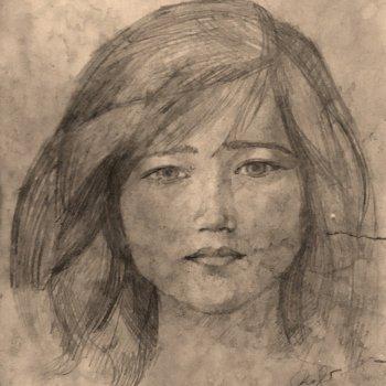 «Портрет жены», Рафиль Хабибуллин