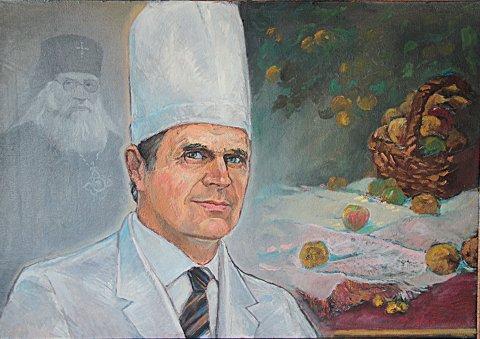 «Портрет Морева Л.С.», Финат Набиуллин, холст, масло