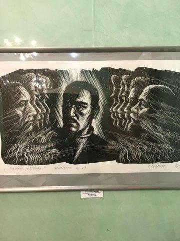 Выставка творческих работ учителей Республиканской художественной гимназии