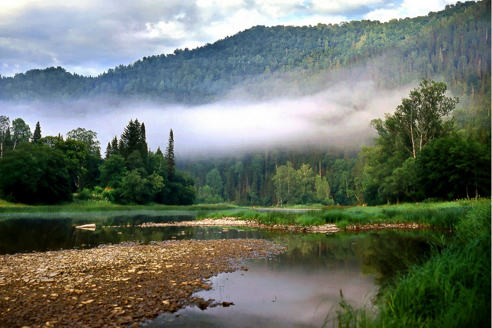 «Утро на реке Зилим», Рамиль Кильмаматов