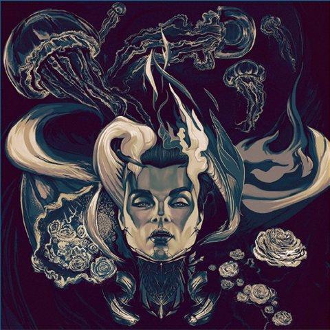 Обложка музыкального альбома группы Dancing chairs, Артур Нурадинов, 2016, компьютерная графика