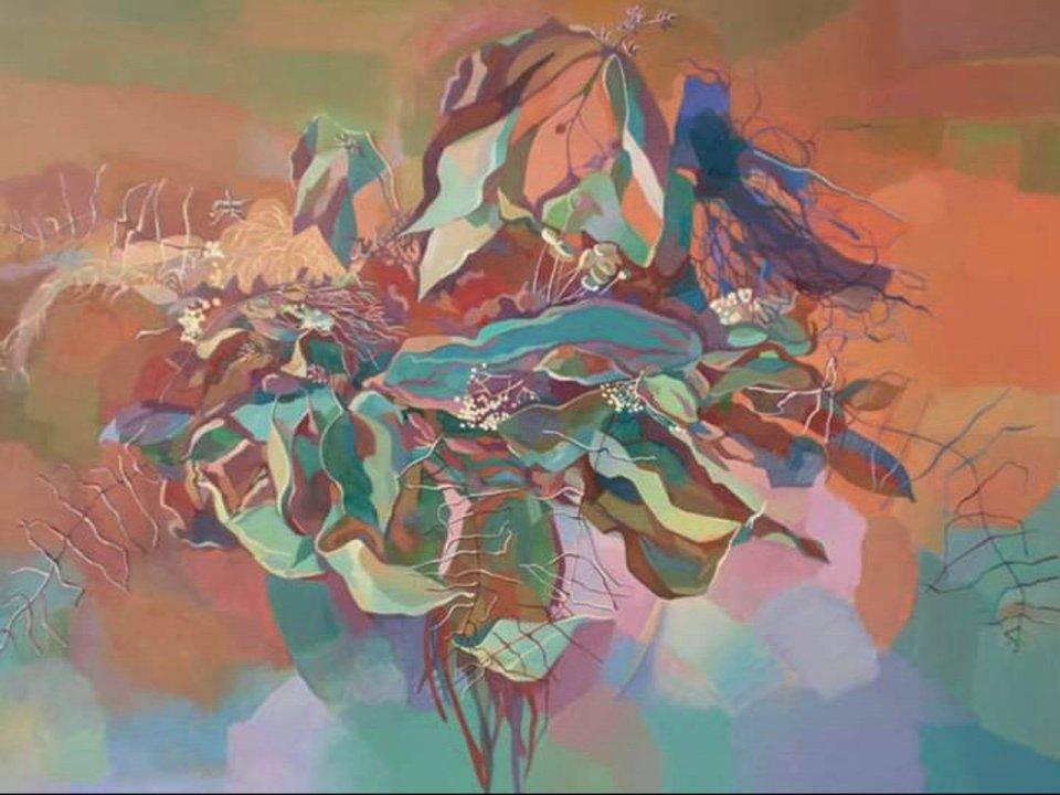 «Осенний букет», Ирина Гатина-Обрусник, 2014, холст, масло