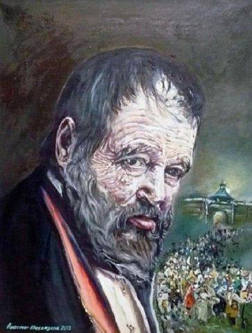 «Пугачев», Аластар Маквизард, 2013, холст, масло