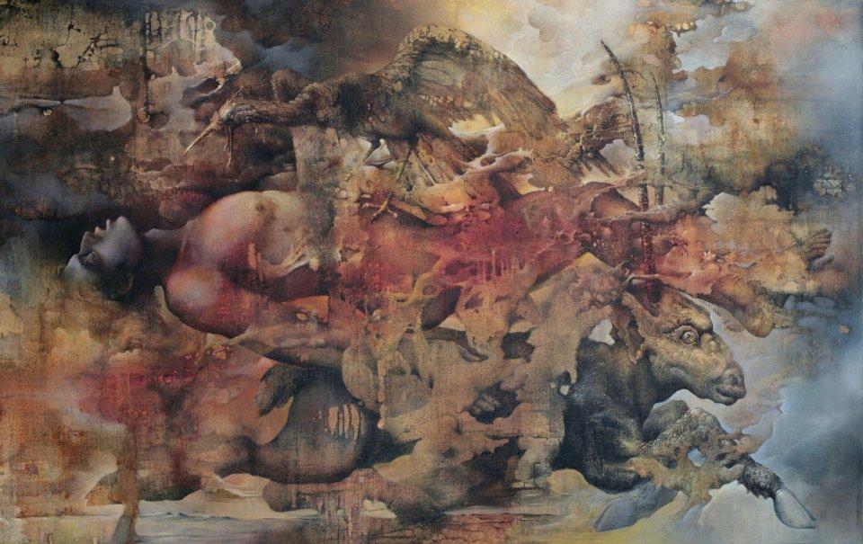 «Дорога», Александр Журкин, 1994, холст, масло