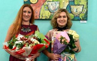 Открытие выставки «XX-XXI»: живопись Ренаты Малютиной и Ольги Фроловой