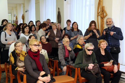 Художественная династия республики: открытие выставки произведений художников Рустяма Фаткуллина и Дины Фаткуллиной
