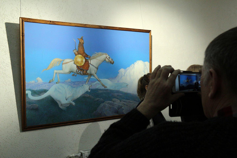 «Небесные странники» художника Азата Миннекаева