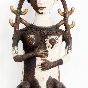 Скульптура «Жена друга», Ляля Галеева