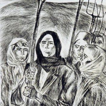 «Женщины. 40-е годы», Эрнст Саитов