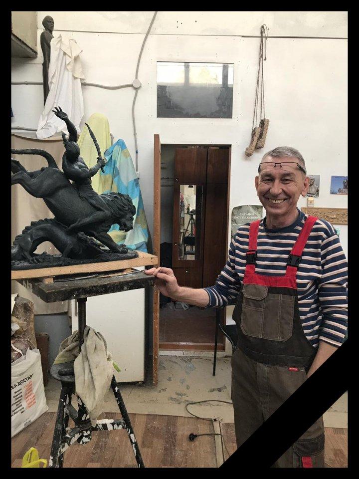 Не стало талантливого скульптора Радика Хусаинова