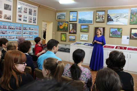 Открытие выставки в Мечетлинском историко-краеведческом музее