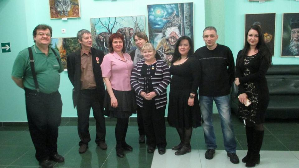 Открытие выставки «Весна...» в Башкирской государственной филармонии им. Х. Ахметова