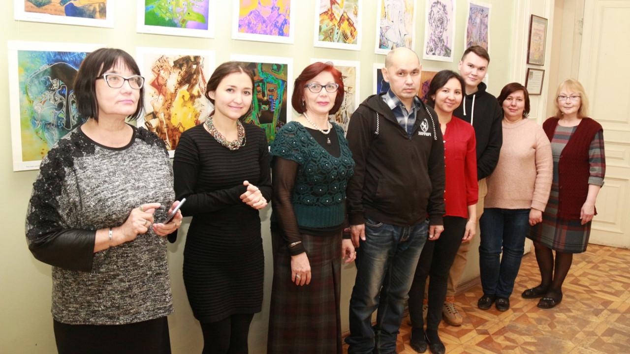 «Кленовый лист» – персональная выставка графики художника Вадима Кузяшева