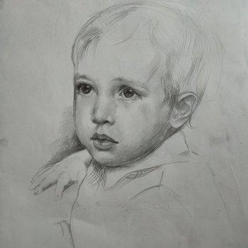 «Портрет мальчика», Альфия Бикбулатова