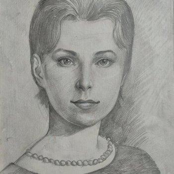«Портрет девушки», Альфия Бикбулатова