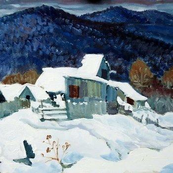 «Деревенька в горах», Михаил Кузнецов