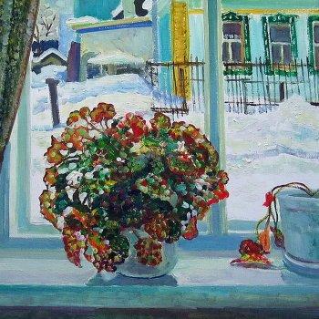 «Зима за окном», Михаил Кузнецов