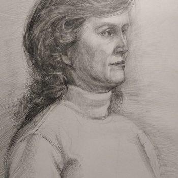«Регина» (портрет), Сергей Максимов