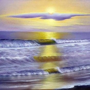 «Закат на море», Расима Валишина