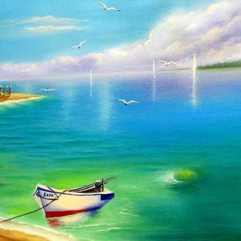 «Морское побережье», Расима Валишина