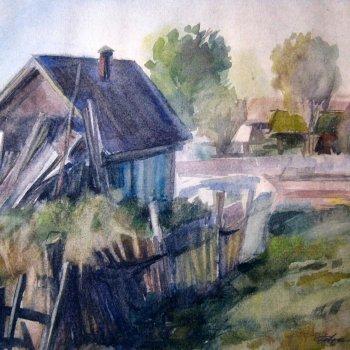 «Садовый домик», Валентин Иванов