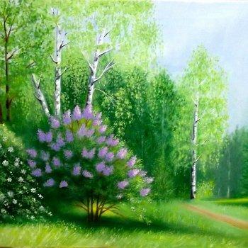 «Цветущий май», Расима Валишина