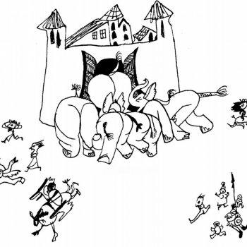 «Оперетка Слоны застрявшие в воротах», Юлия Устюгова (Ломова)