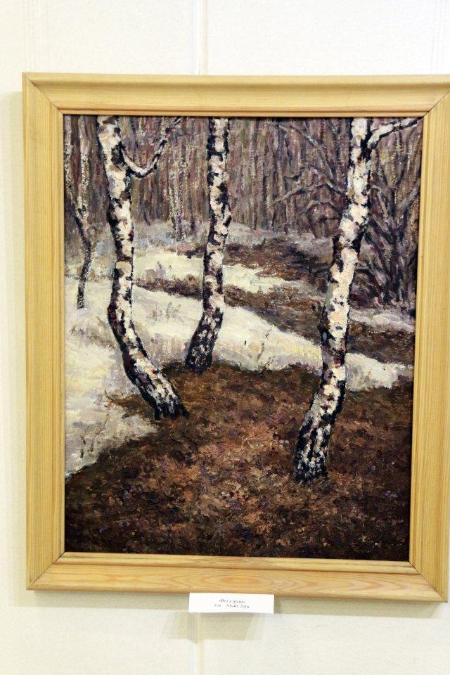 Открытие персональной выставки художника Наталии Насыровой