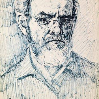 «Автопортрет», Геннадий Огородов