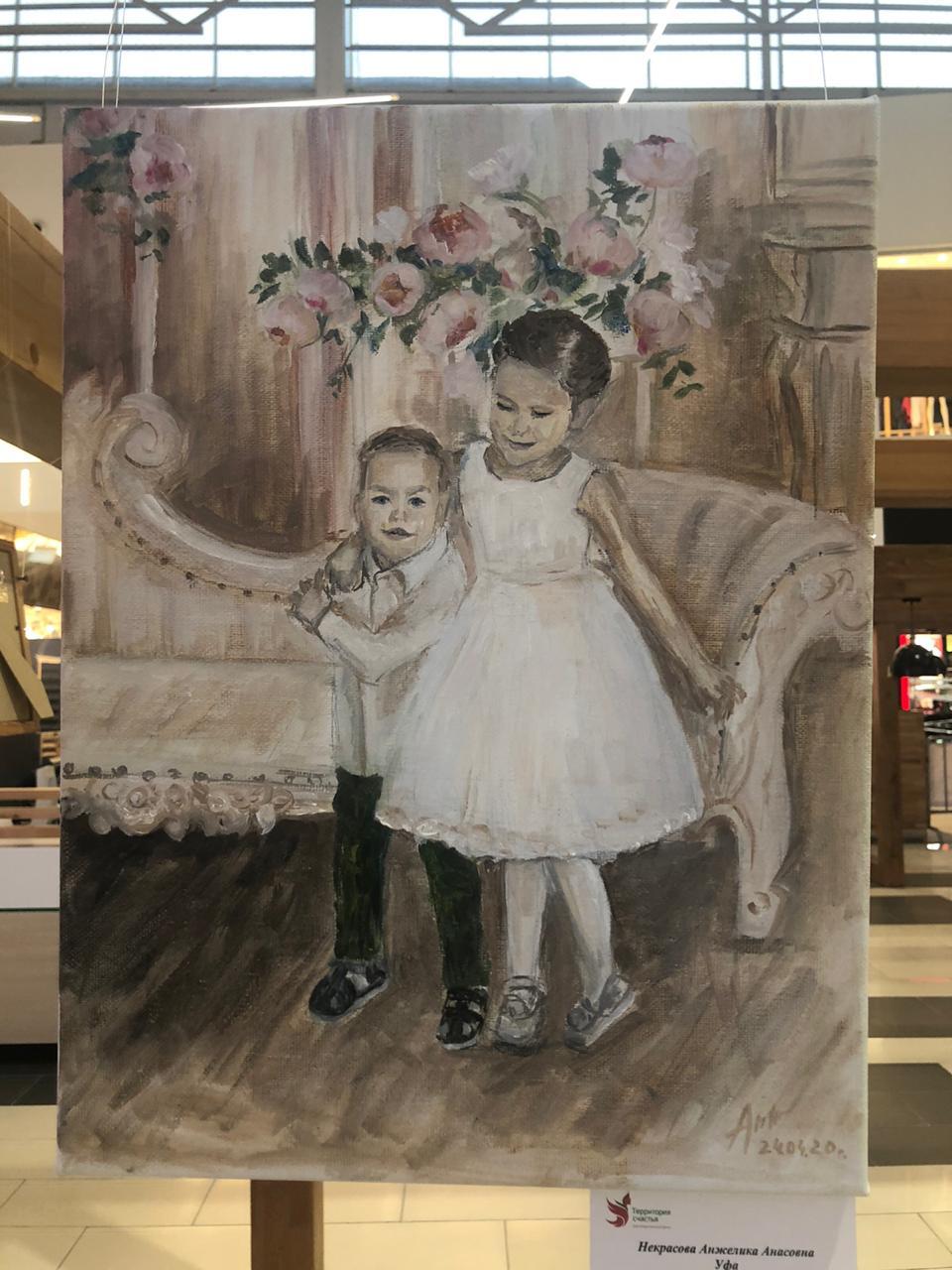 Выставка «Материнство раскрывает таланты»: художественные образы, созданные женщиной