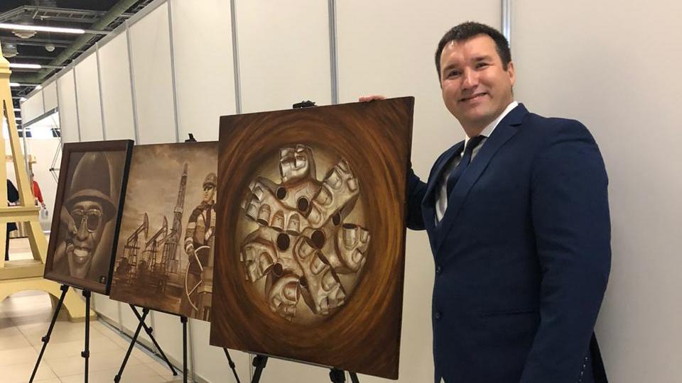 Презентация работ Марселя Шайдуллина на Российском нефтегазохимическом форуме
