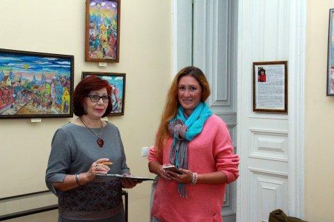 «Шелковый блюз»: персональная выставка Ирины Наземцевой