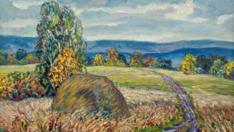 Открытие персональной выставки живописи художника Владислава Меоса в галерее «Ижад»