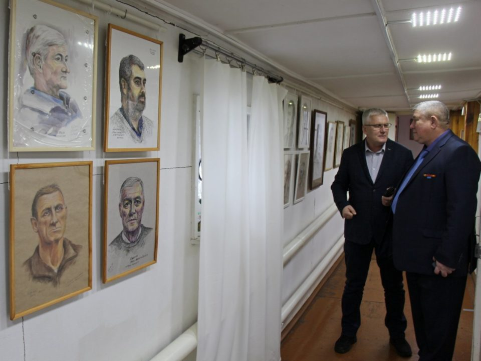 Дмитрий Глушко и Рафаэль Наильевич Ганиев (справа)