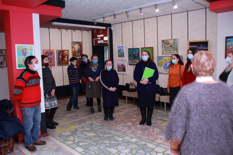 «Сказки, рассказанные кистью»: открытие выставки художников группы Арт-Фольклор