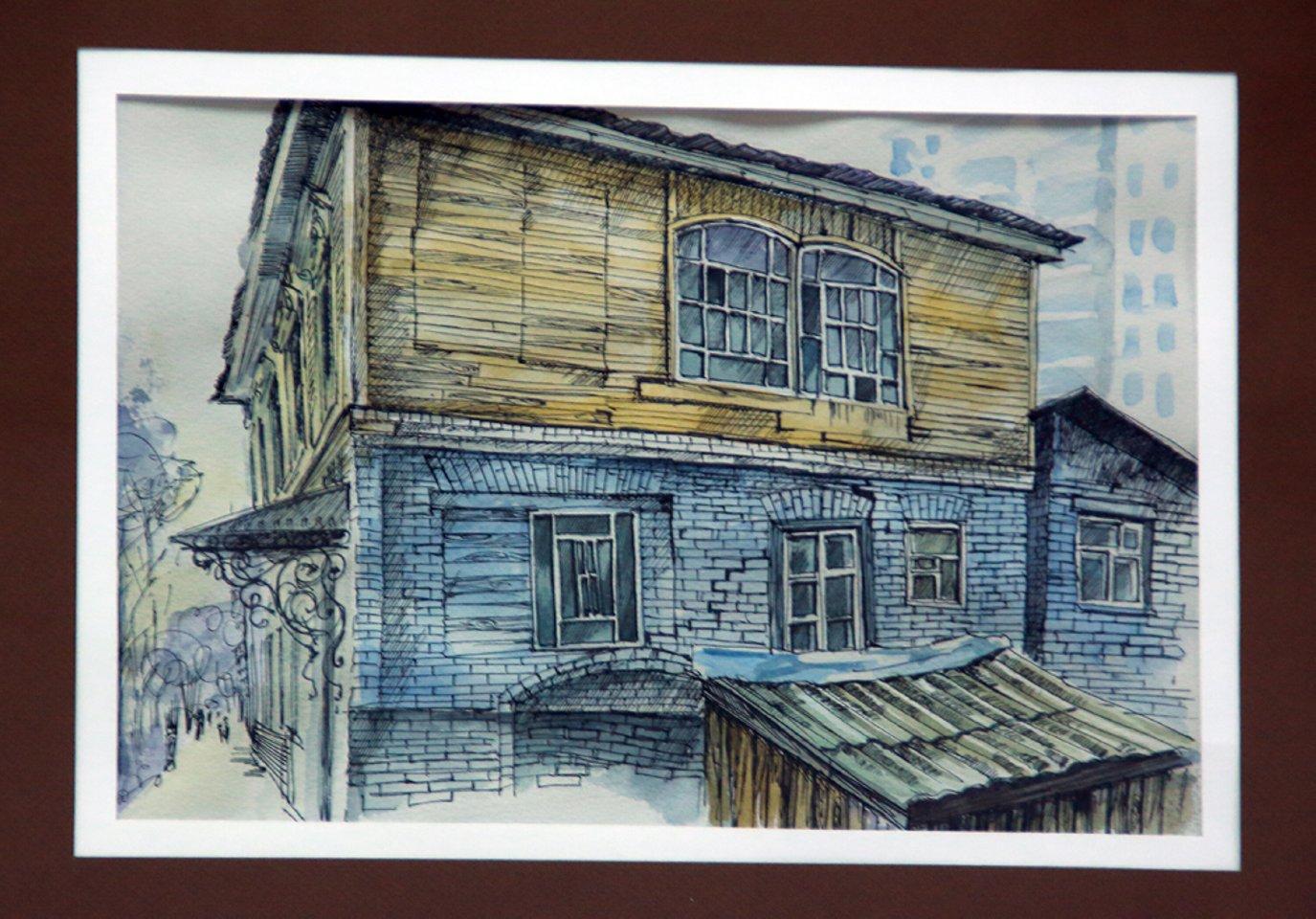 «Мы здесь жили»: персональная выставка художника и архитектора Евгении Лаздиной в Музее истории города Уфы
