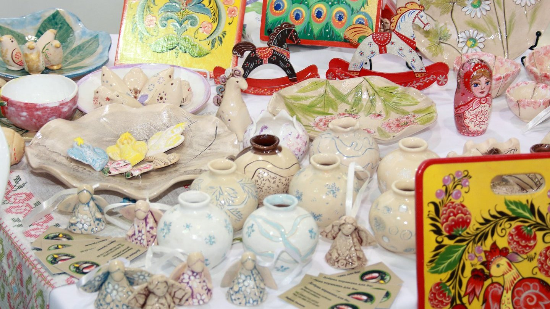 Православная выставка-ярмарка «Богоявленская» и экспозиция художников творческого объединения «Арт-Путь»