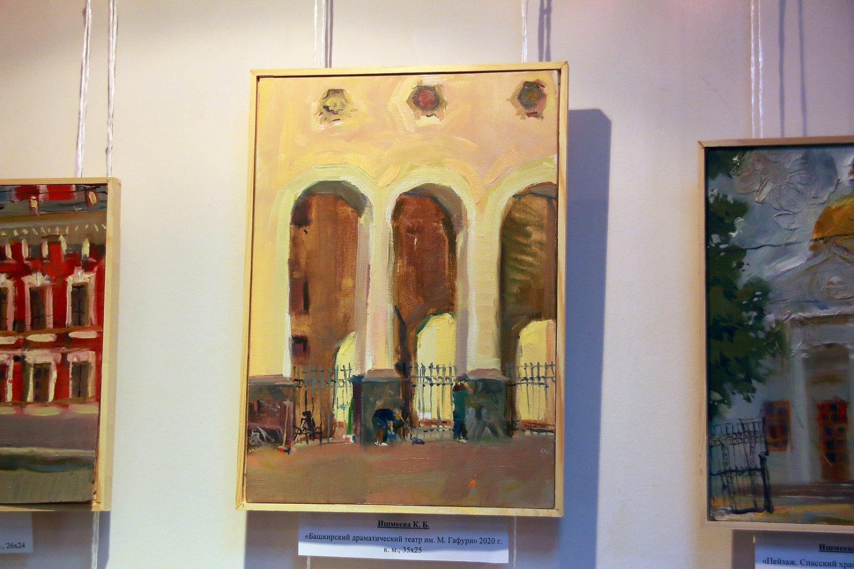 «Город и не только»: 7-я ежегодная выставка студентов Уфимского училища искусств в в Мемориальном доме-музее А.Э. Тюлькина