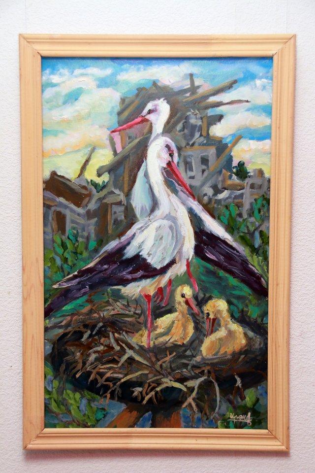 Открытие персональной выставки молодого художника Ирины Тухватшиной