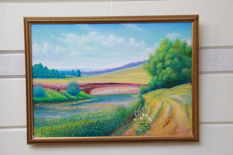 Открытие персональной выставки самобытного художника Салимкирея Хазеева