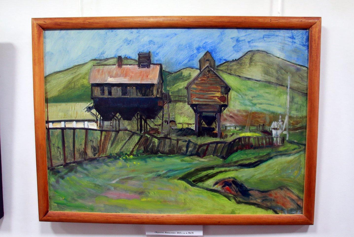 Пероснальная выставка художника Рафаиля Бураканова в Мемориальном доме-музее А.Э. Тюлькина